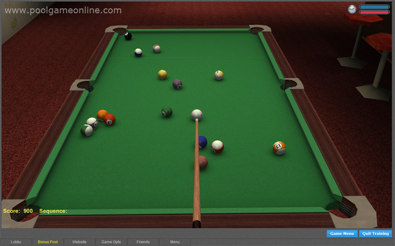 Click to view 3D Online Pool 1.391 screenshot