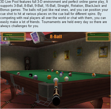 3d live pool online play